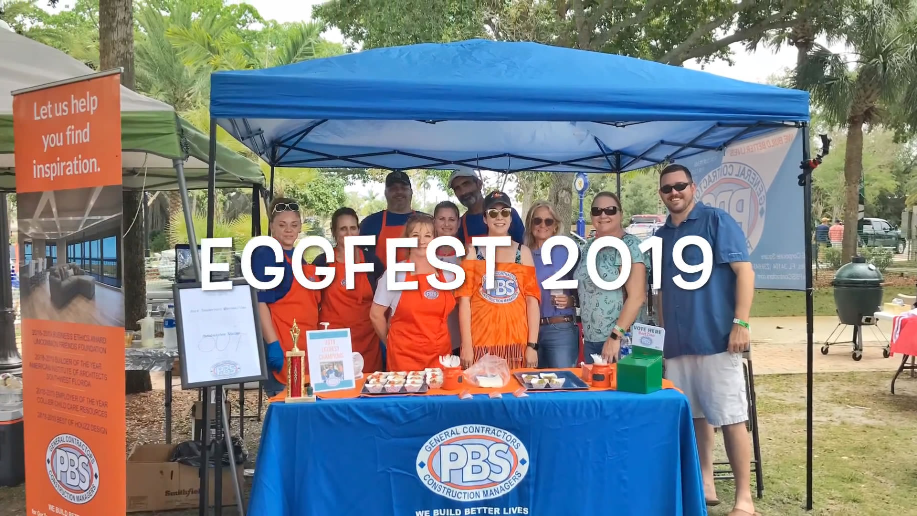 PBS Wins Eggfest for the Second Year in a Row!