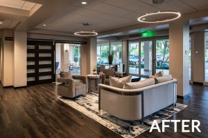 Lobby Remodel - After