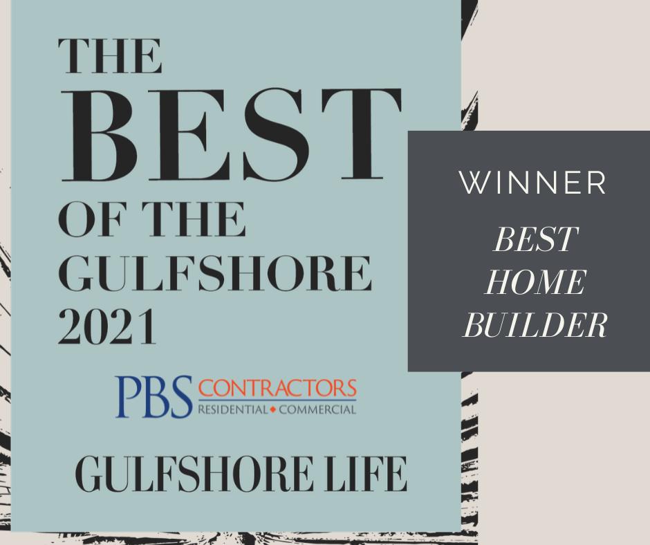 PBS CONTRACTORS VOTED BEST HOME BUILDER